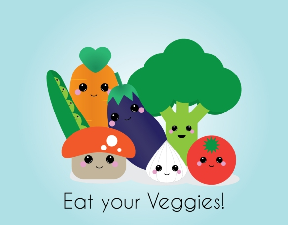eat your veggies