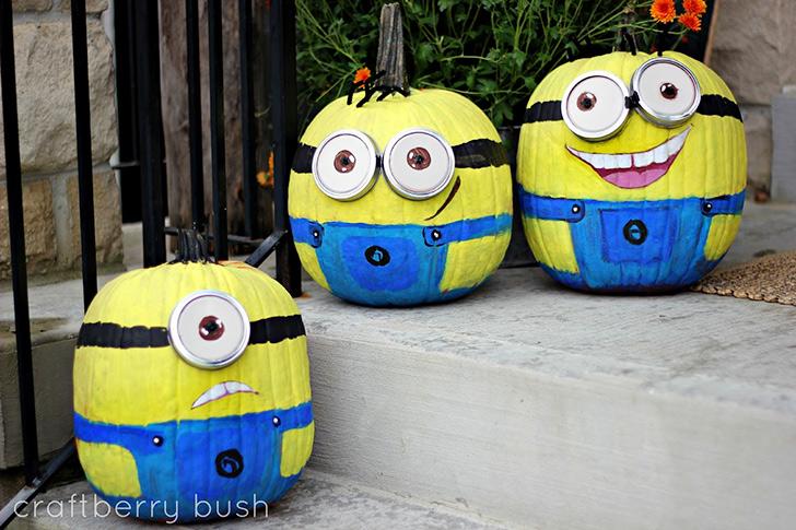 halloween-minions-pumpkins